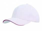 Brushed Cotton Cap with Trim