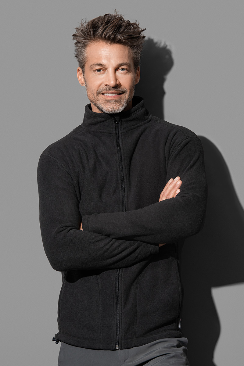 Active Fleece Jacket Man